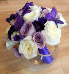 Roses & Eustoma Bridal